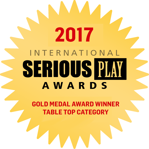 Gold Winner Serious Play Awards 2017