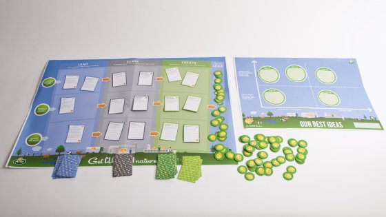 An overview of the game materials.